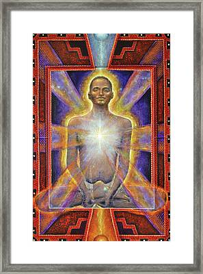 Temple Of The Soul Framed Print
