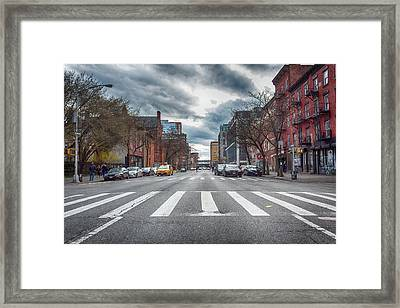 Tenth Avenue Freeze Out Framed Print