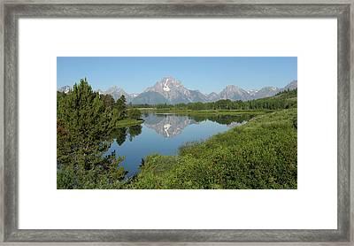 Teton Moment Framed Print