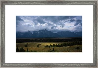 Teton Park Framed Print
