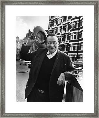 Tex Ritter Framed Print by Hulton Archive