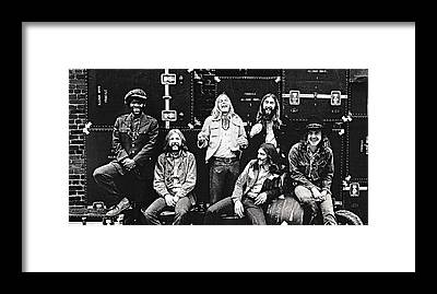 The Allman Brothers Band Framed Prints