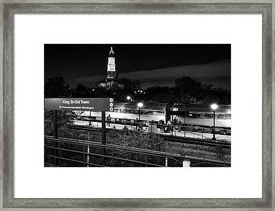 The Alx Framed Print