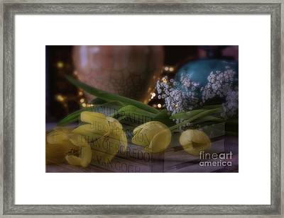 The Art Of Passion Framed Print