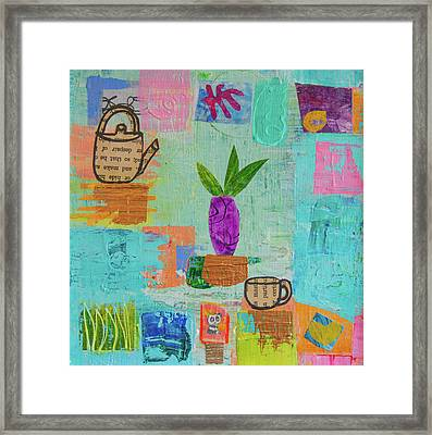 The Art Of Tea Two Framed Print