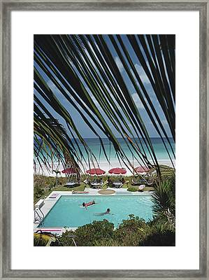 The Bahamas Framed Print by Slim Aarons