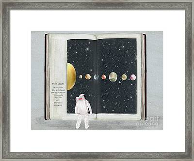 The Big Book Of Stars Framed Print by Bri Buckley