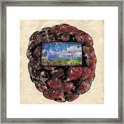 The Blackberry Concept Framed Print