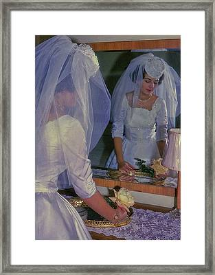 The Bride Framed Print by JAMART Photography