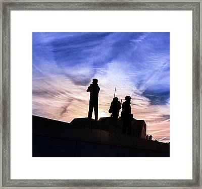 The Canadian Peacekeepers Framed Print