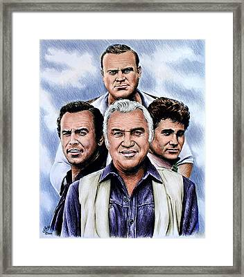 The Cartwrights Colour Ver Framed Print