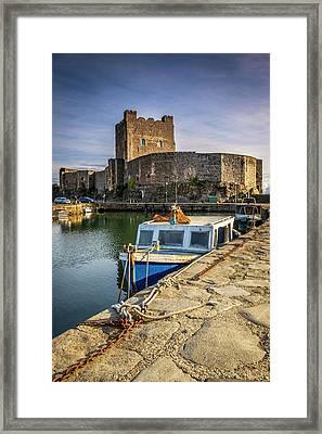 The Castle Harbour Framed Print