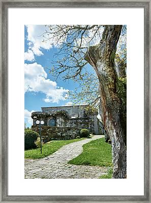 The Castle Of Villamarin Framed Print