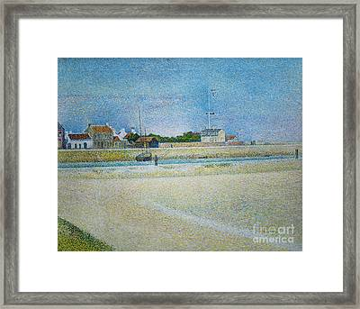 The Channel Of Gravelines Grand Fort Philippe Framed Print