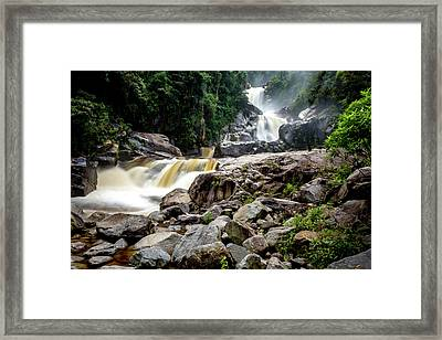 Framed Print featuring the photograph The Chorros by Francisco Gomez