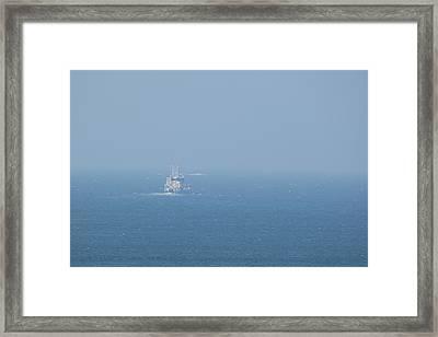 The Coast Guard Framed Print