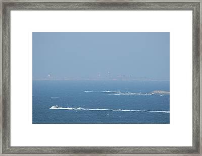 The Coast Guard's Rib Framed Print