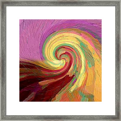 The Consumption Of Fire Framed Print