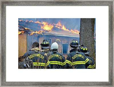 Framed Print featuring the photograph The Crew by Carl Young