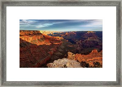 The Dawn Of A New Day Framed Print