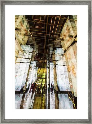 The Delegation Framed Print