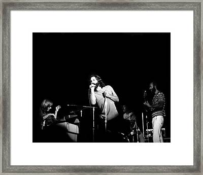 The Doors Live Framed Print by Larry Hulst