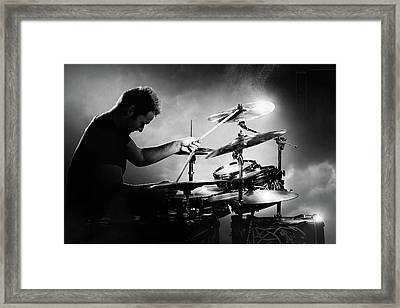 The Drummer Framed Print