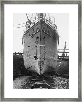 The Endurance Framed Print by Topical Press Agency