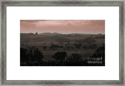 The English Landscape Framed Print