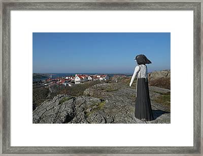 The Fisherman's Wife Framed Print