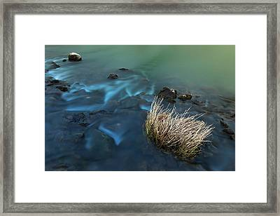 Framed Print featuring the photograph The Flow Of Time by Davor Zerjav