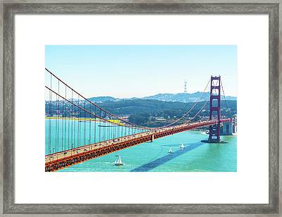 The Golden Gate Bridge I Framed Print