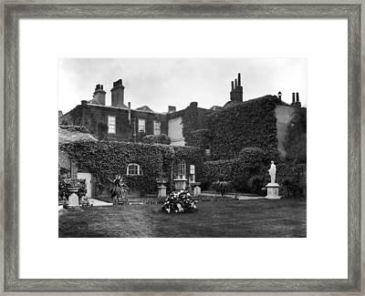 The Grange Framed Print by Hulton Archive