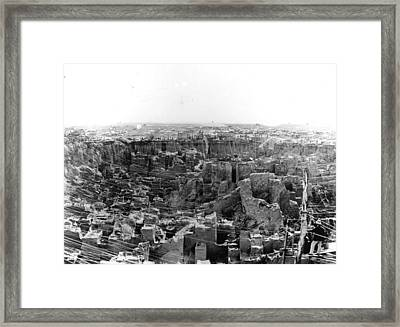 The Great Pit Framed Print by Reinhold Thiele