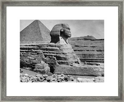 The Great Sphinx Framed Print by Hulton Archive
