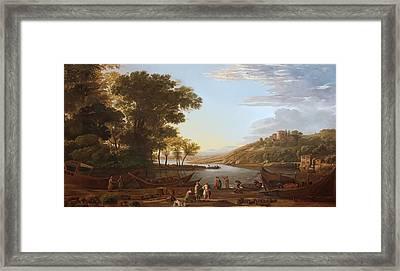 The Harbor Framed Print