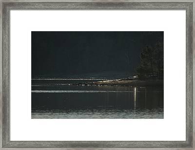 The Headland Framed Print