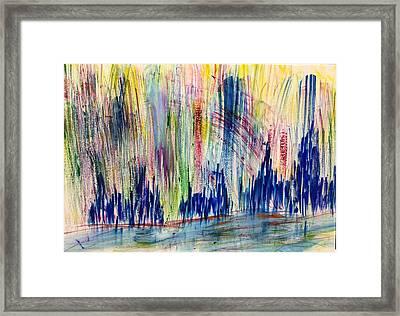 The Holy City Framed Print by Tom Atkins
