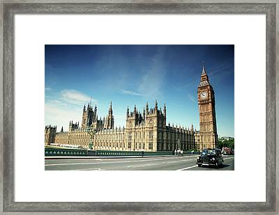 The Houses Of Parliament & Big Ben Framed Print by Cezary Zarebski Photogrpahy