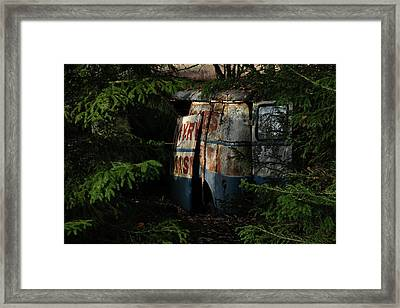 The Junk Yard Framed Print