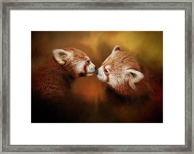The Kiss Framed Print