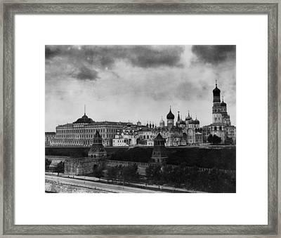 The Kremlin Framed Print by Topical Press Agency