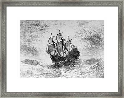 The Mayflower Framed Print by Three Lions