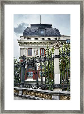 The Ministry Of Agriculture, Fisheries, Food And Environment In Madrid Framed Print
