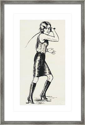 The Mistress Framed Print by Grinson