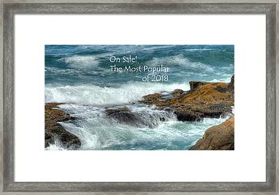 Framed Print featuring the photograph The Most Popular by Jerry Sodorff