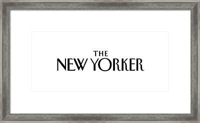 The New Yorker Logo Framed Print