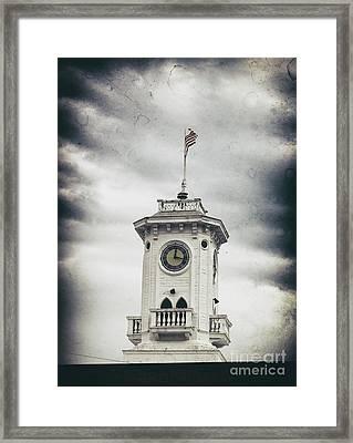 The Old Clocktower  Framed Print by Steven Digman