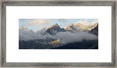 Framed Print featuring the photograph The Ossau Valley  by Stephen Taylor