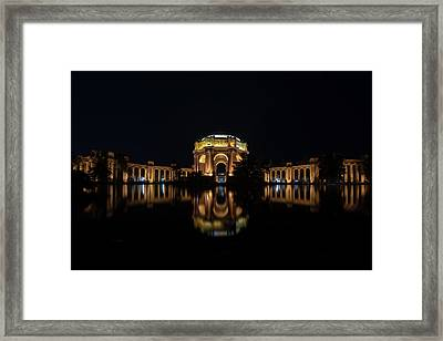 The Palace Of Fine Arts Framed Print